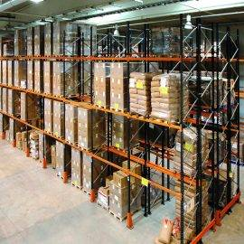 Image of Double Deep Pallet Racking