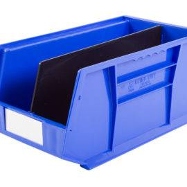 Image shows a plastic picking bin