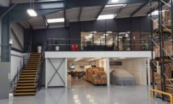 Improve your warehouse with a mezzanine floor