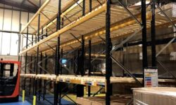 Optimise your storage space with double deep racking