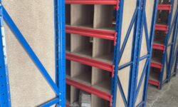 Linear provides bespoke pigeonhole shelving system for tile samples